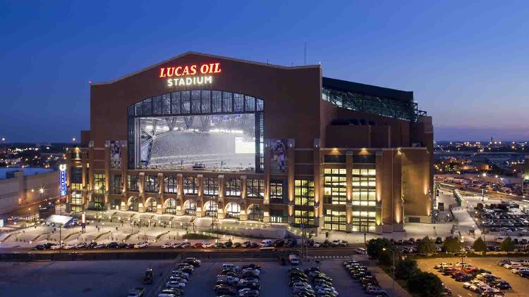 Lucas oil stadium 1 list