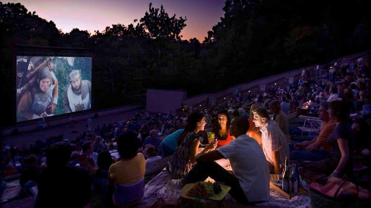 National Bank of Indianapolis Summer Nights Film Series