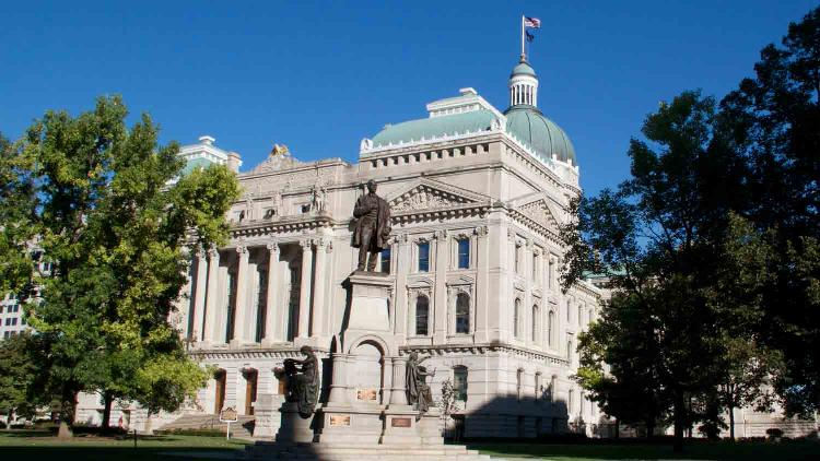 Indiana statehouse 4 list