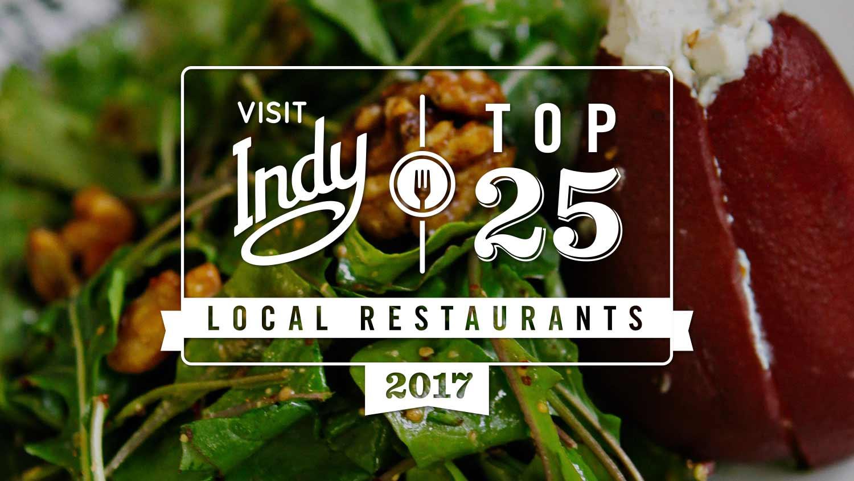 Top 25 local restaurants 2017
