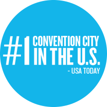 Number One Convention City in the USA