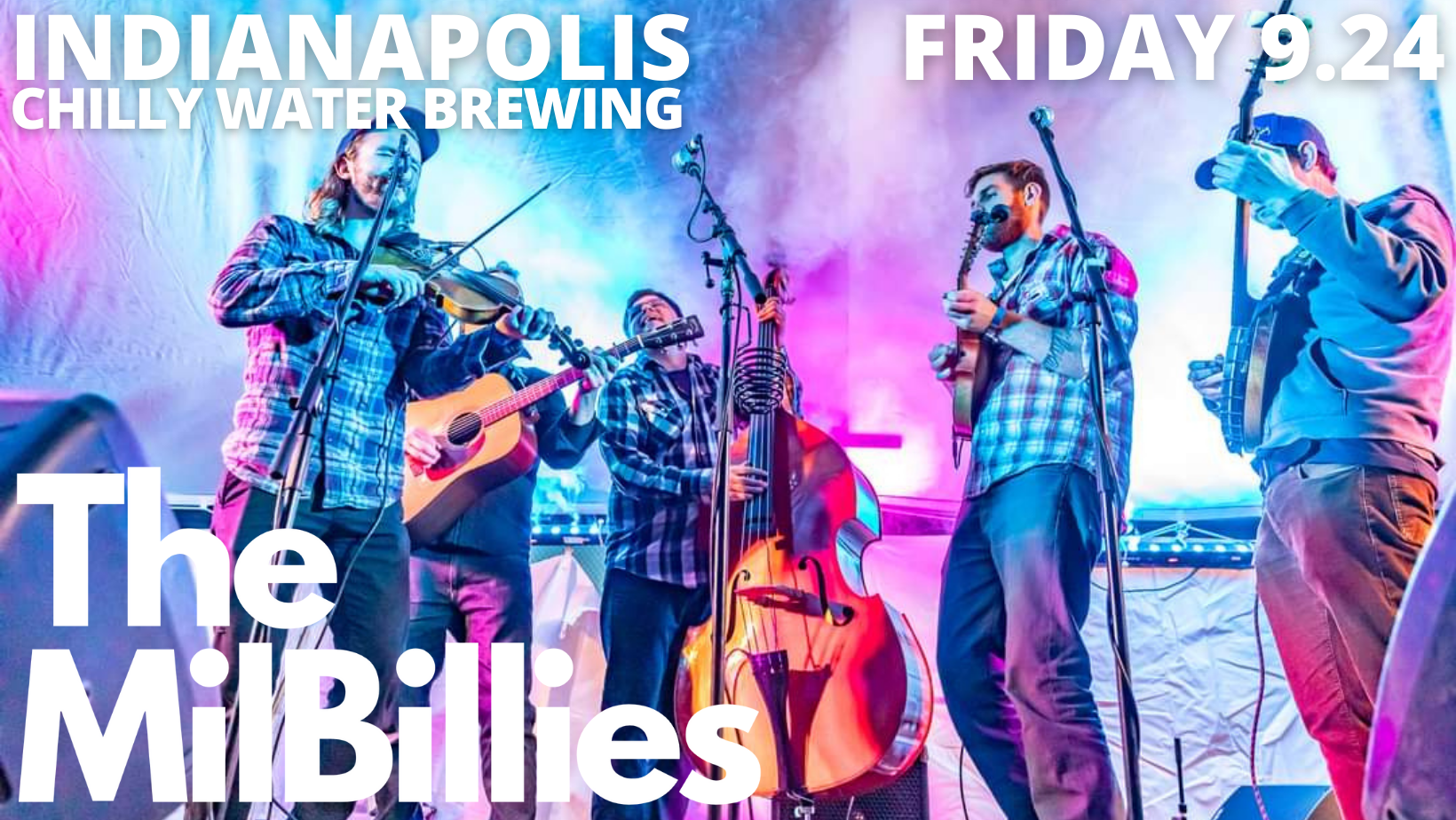 The MilBillies at Chilly Water Brewing