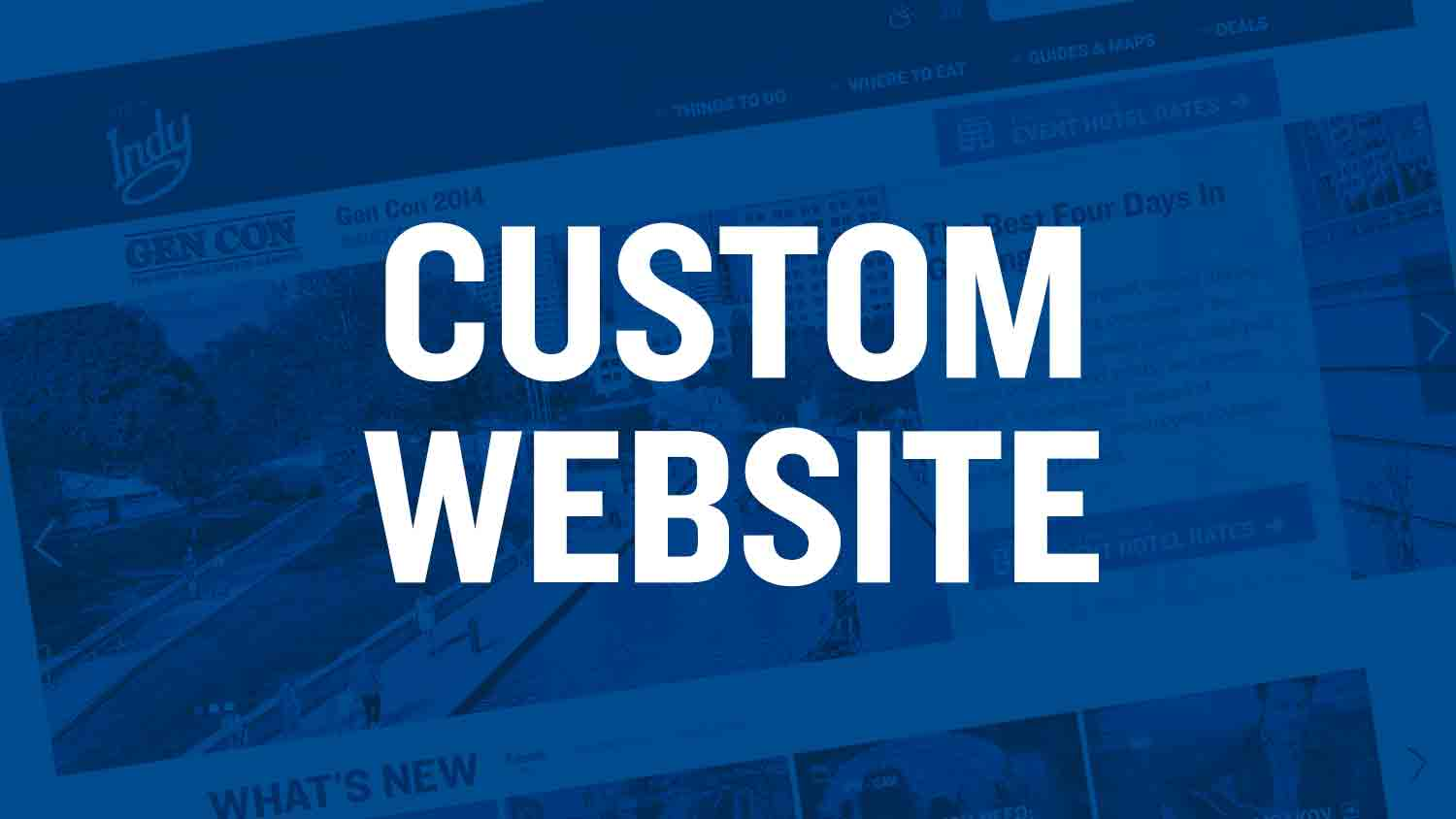 Toolkit custom website