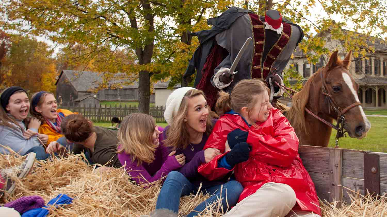 Headless Horseman Supported by Marsh Supermarkets and Reynolds Farm Equipment 1