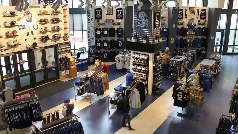 Colts Pro Shop - Lucas Oil Stadium 3