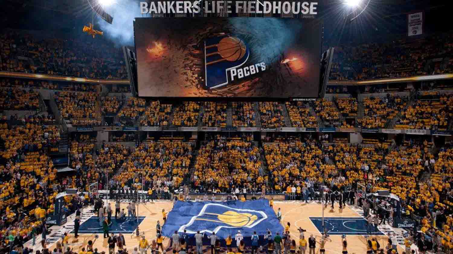Bankers life fieldhouse 2