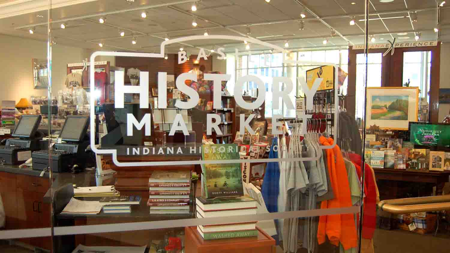 Basile History Market at the Eugene and Marilyn Glick Indiana History Center 2