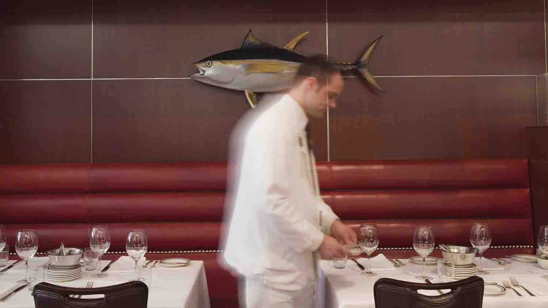 Oceanaire seafood room 1