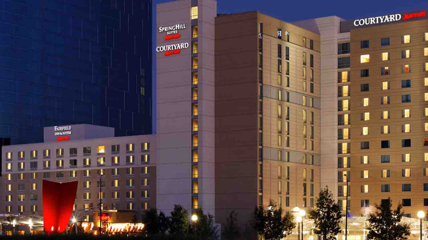 SpringHill Suites by Marriott Downtown Indianapolis 2