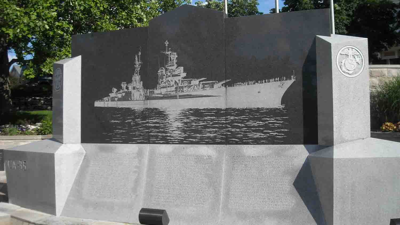 Uss indianapolis memorial 1