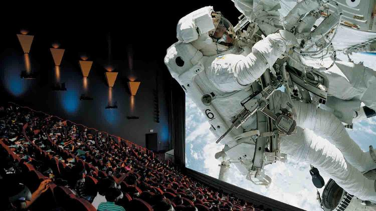 IMAX Theater in the Indiana State Museum