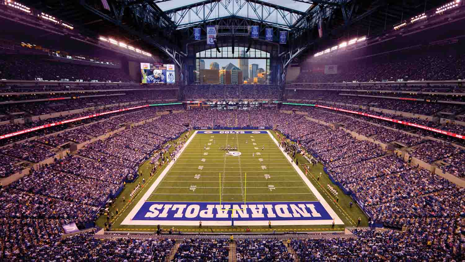 Public Tours - Lucas Oil Stadium 1
