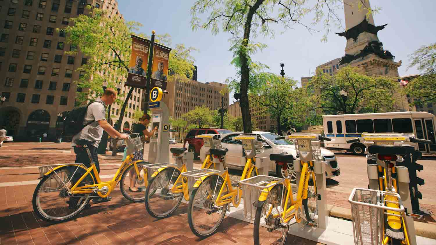 Indiana Pacers Bike Share 6