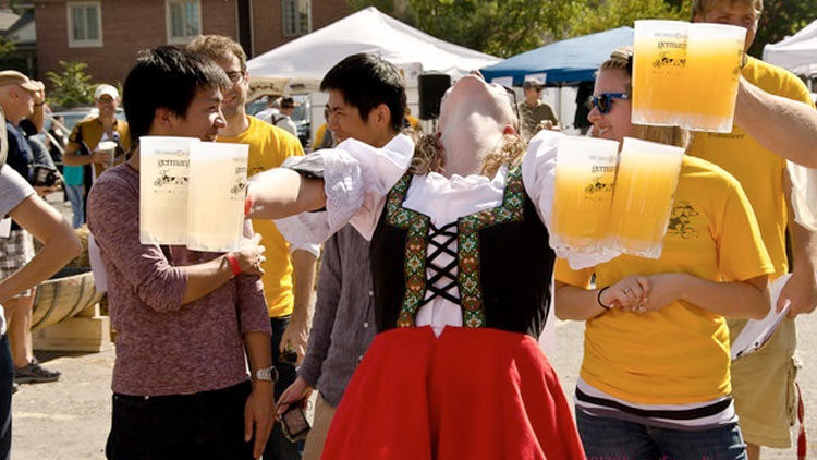 Annual Original and Fabulous GermanFest and Beer Games 1