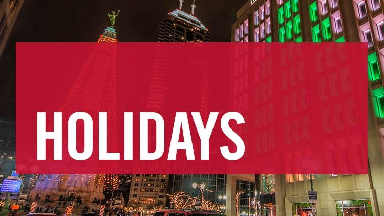 Holidays list