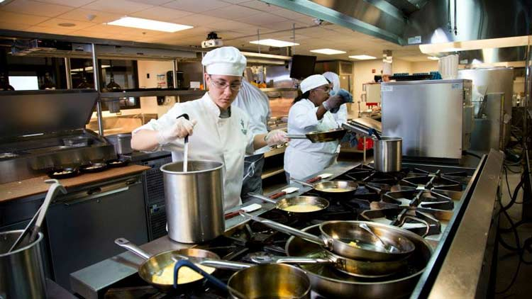 Courses Restaurant at Ivy Tech Corporate College and Culinary Center 1