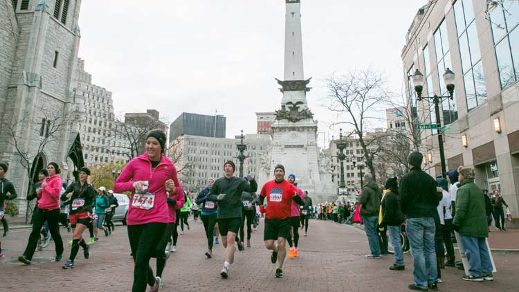 Indianapolis Monumental Marathon, Half Marathon, 5K and Kids Run