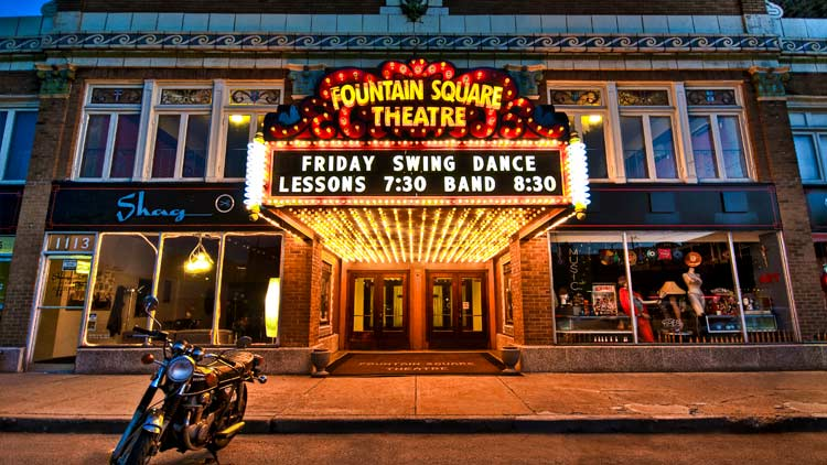 Fountain Square Theatre Building 7