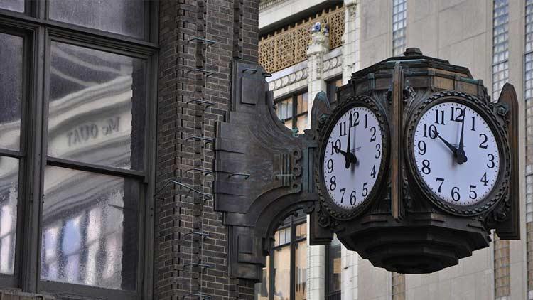 L.S. Ayres Building and Clock