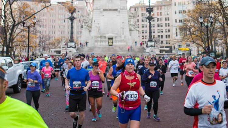 CNO Financial Indianapolis Monumental Marathon, Half Marathon, 5K and Kids Run 1