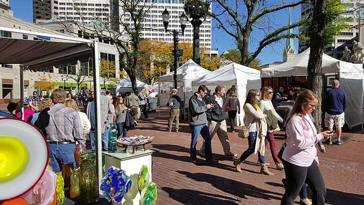 Monument Circle Art Fair 3