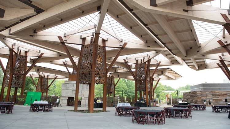 Bicentennial Pavilion at the Indianapois Zoo 3