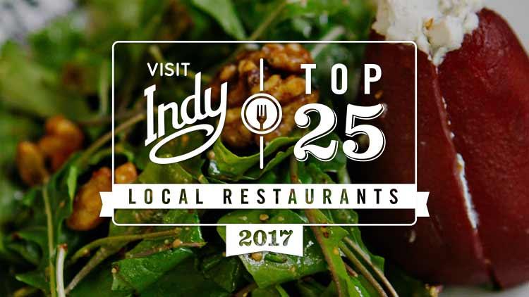 Top 25 local restaurants 2017 list