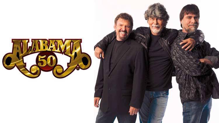 Alabama - 50th Anniversary Tour