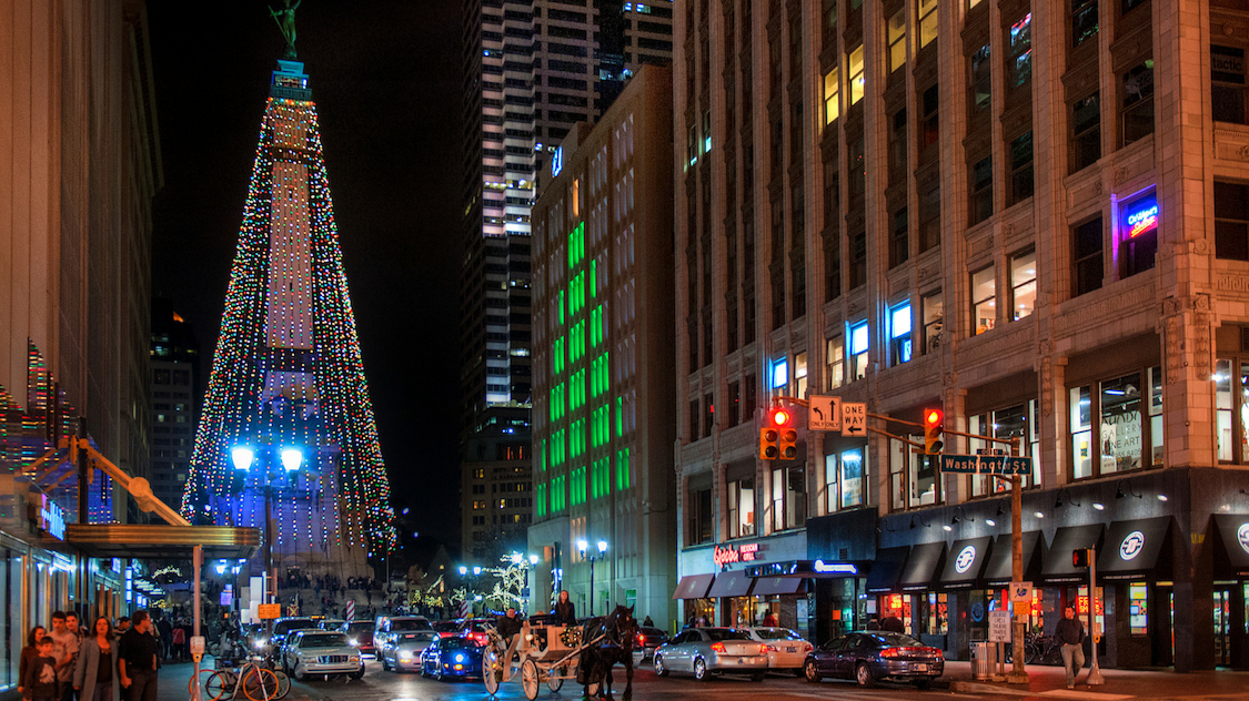 Where to see holiday lights in Indy