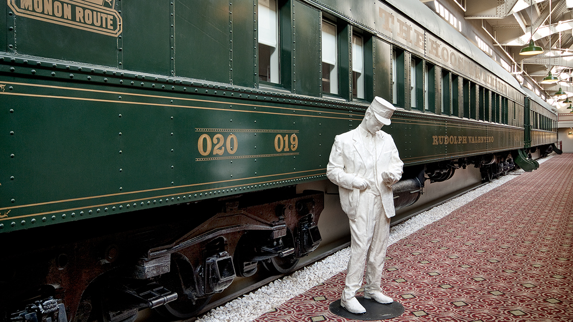 Stay in a Train Car