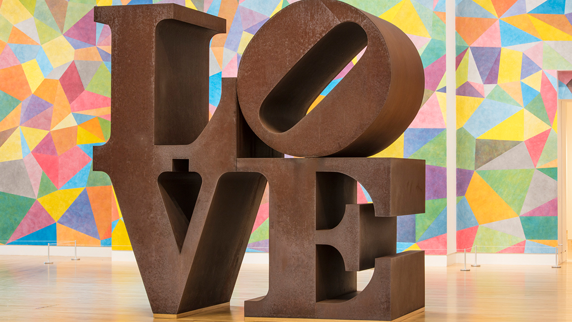 Experience LOVE by Robert Indiana