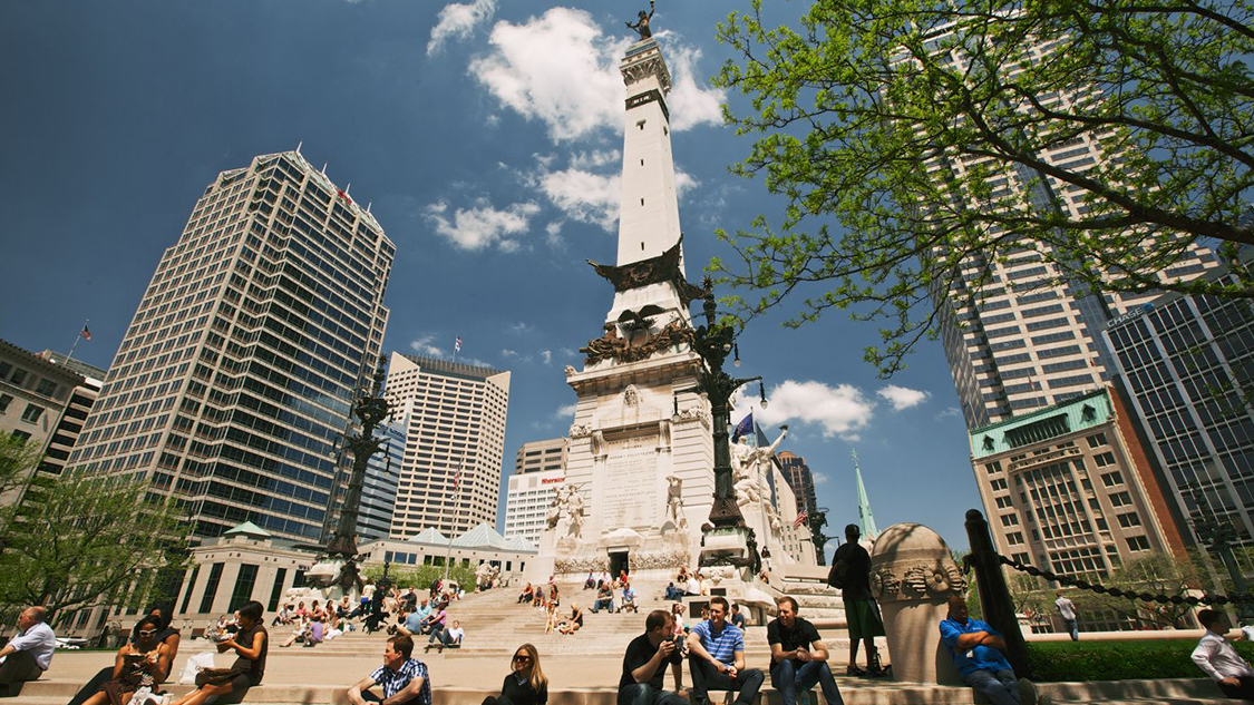 Climb Monument Circle