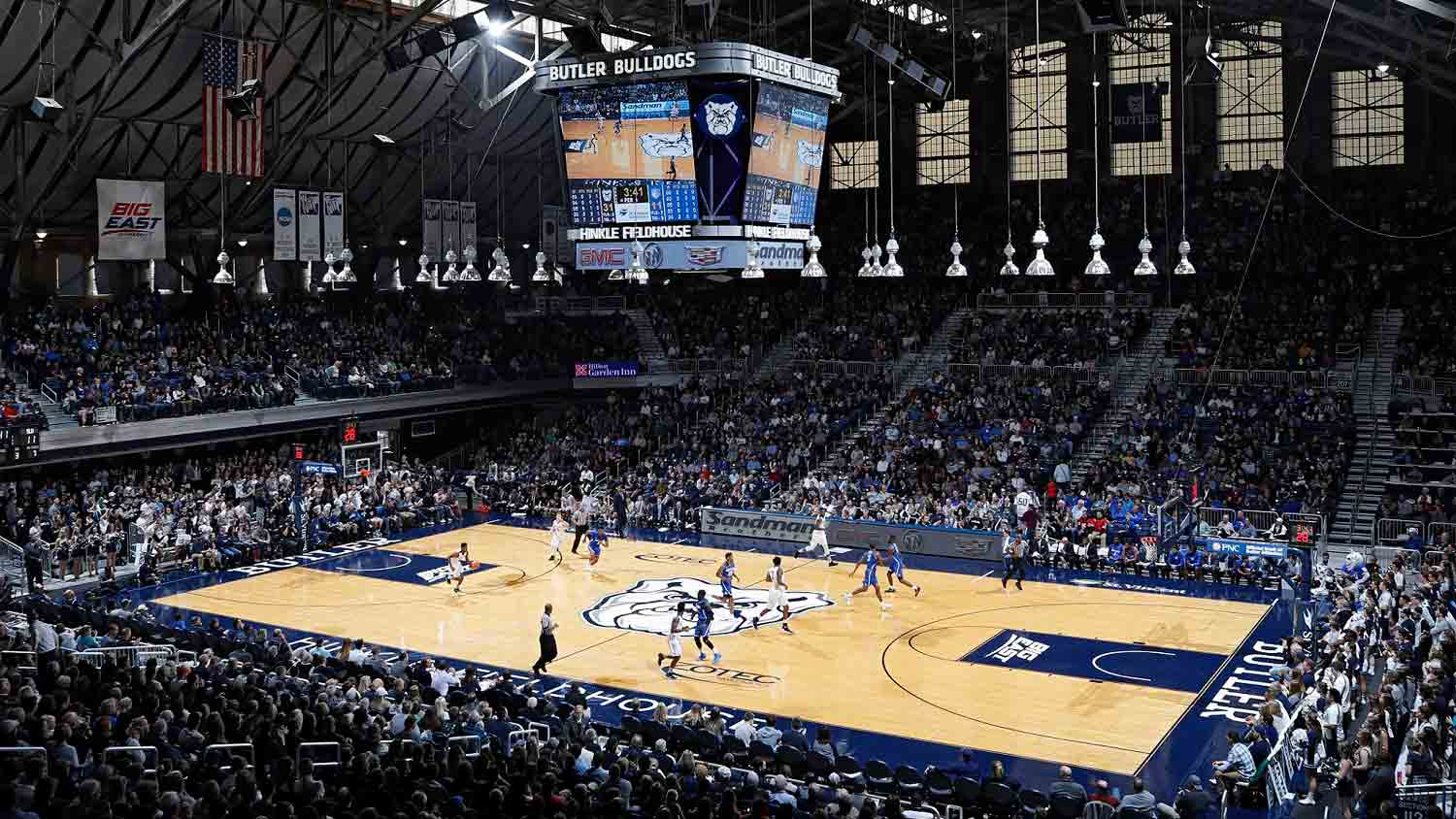 Hinkle Fieldhouse at Butler University 4