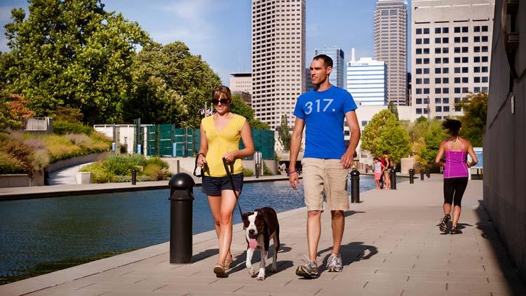 Encourage Walking Meetings