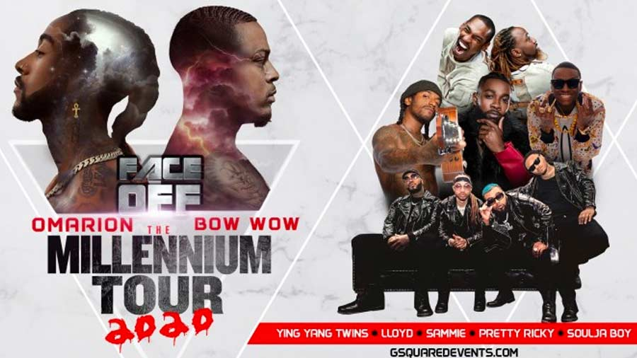 Omarion and Bow Wow - The Millennium Tour 2020