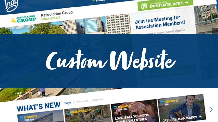Planner Marketing Toolkit Features: Custom Website