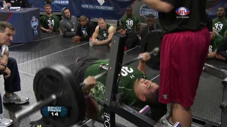 NFL Combine Bench Press