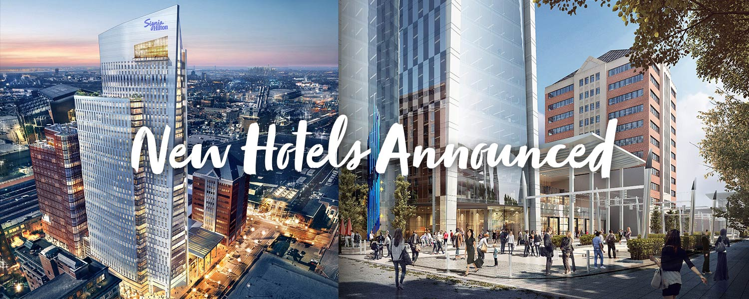 New Hotels Announced