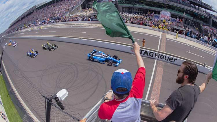 Indy 500 Practice