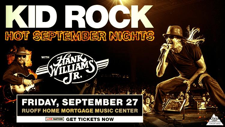 Kid Rock and Hank Williams, Jr.