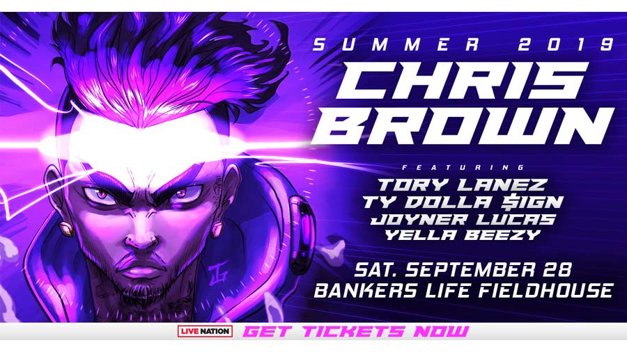 Chris Brown with Tory Lanez, Ty Dolla $ign, Joyner Lucas, and Yella Beezy