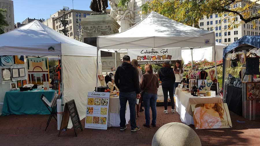Monument Circle Art Fair 6
