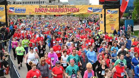 OneAmerica 500 Festival Virtual Mini-Marathon