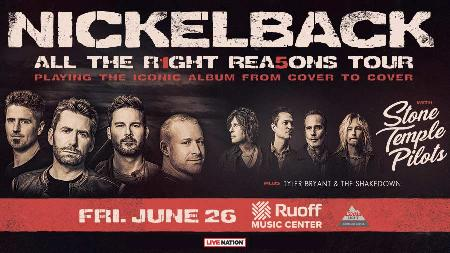 Nickelback - All the Right Reasons Tour