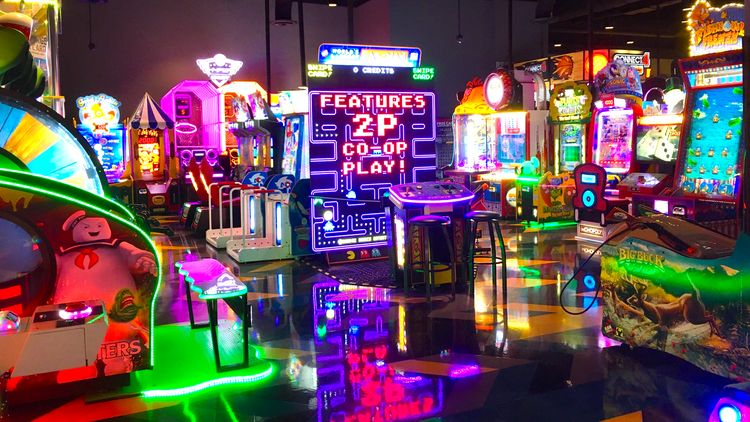 Arcades for Families in Indy