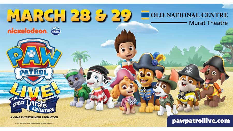 PAW Patrol Live - The Great Pirate Adventure 1