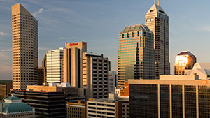 In the Heart of Downtown Indy - Hilton Indianapolis Hotel & Suites