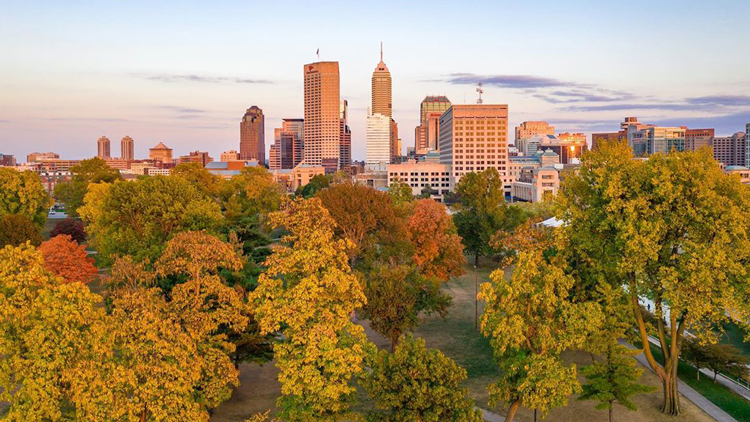 A Fall Break Getaway in Indy