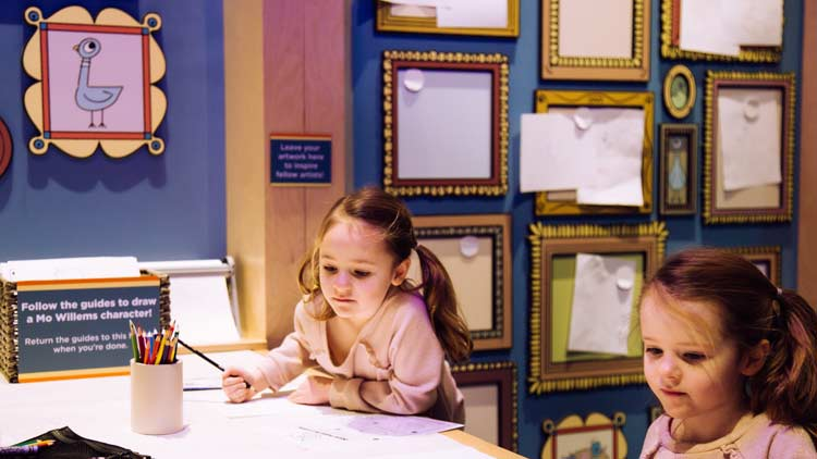 Nine Things We Love About the Mo Willems Exhibit at The Children's Museum of Indianapolis