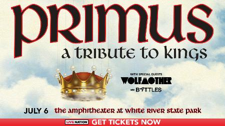 POSTPONED - Primus - A Tribute to Kings Tour